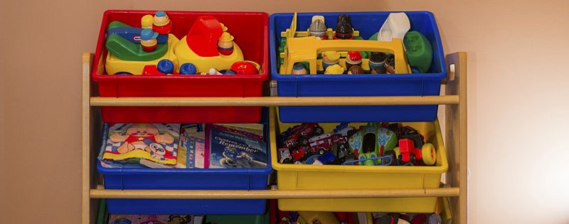 Children's Toys at Victoria Chiropractic Centre